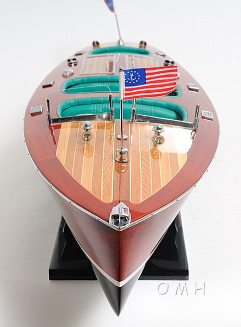 Chris Craft Triple Cockpit Speed Boat Model Runabout