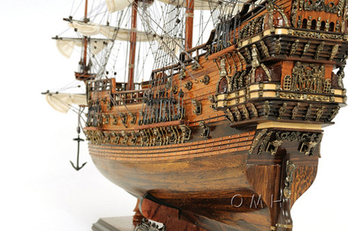 Vasa Swedish Wasa Warship Wooden Assembled Model