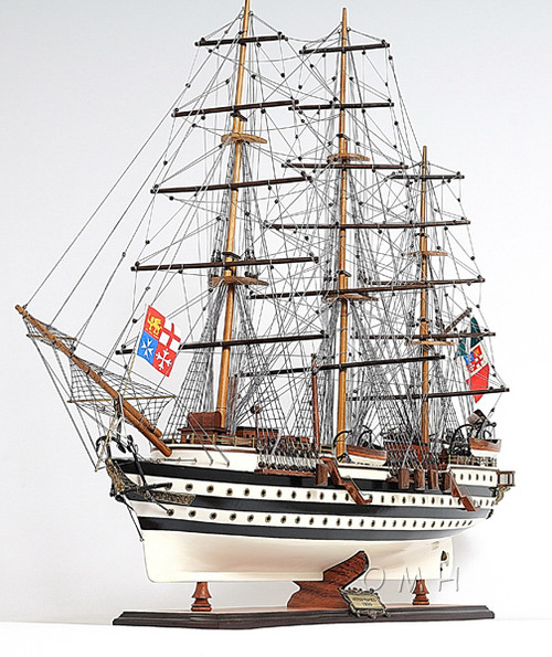 Amerigo Vespucci Wooden Model Italian Tall Training Ship