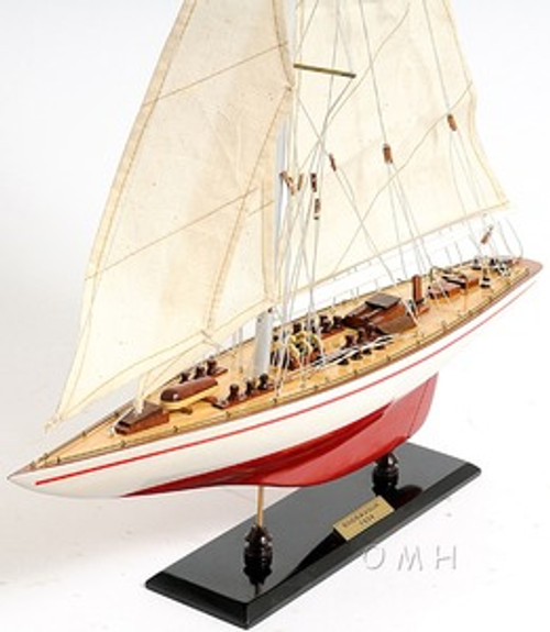 Endeavour America's Cup Model Sailboat J Boat