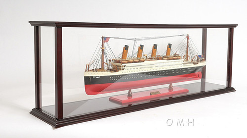 Cruise Model Display Case Ocean Liner Ships