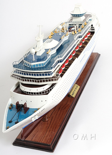 Majesty Seas Royal Caribbean Cruise Ship Model