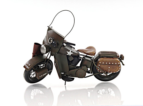 1942 WLA Harley Davidson Army Motorcycle Model