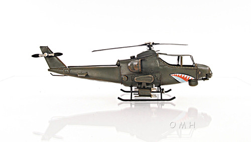 Bell AH-1 Cobra Snake Model Attack Helicopter