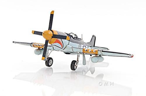North American P-51 Mustang Metal Desk Model