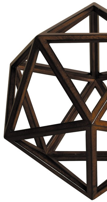 3D Geometric Water Model Polyhedron Home Decor