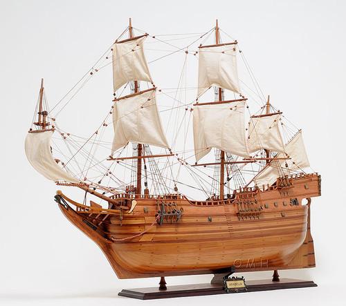 Arabella Ship Model Arbella Winthrop Fleet Vessel