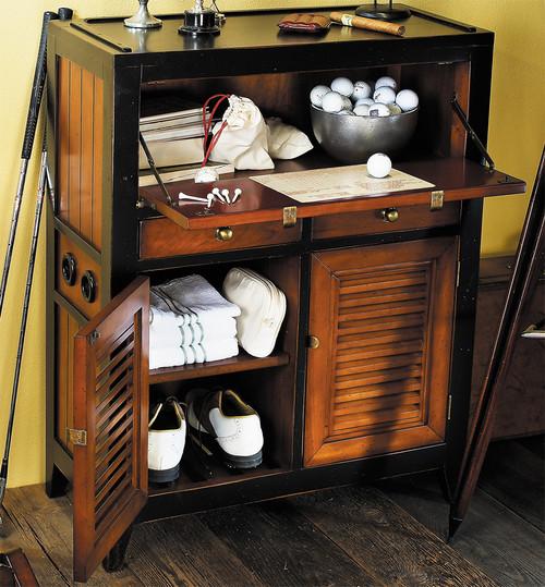 "Cape Cod Console Cabinet 37"" Nautical Storage Furniture"