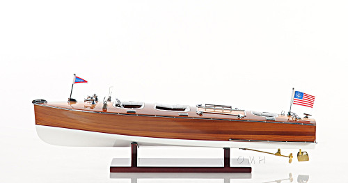 Chris Craft Triple Cockpit Speed Boat Runabout Model