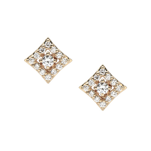 Regalo diamond stud earring