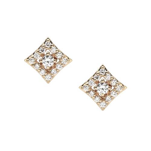Regalo diamond stud earring