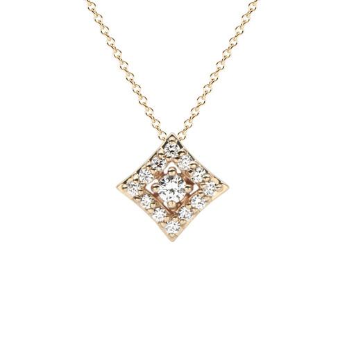 Regalo Diamond Pendant in Yellow Gold