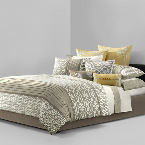 Fretwork 9-piece King Comforter Set