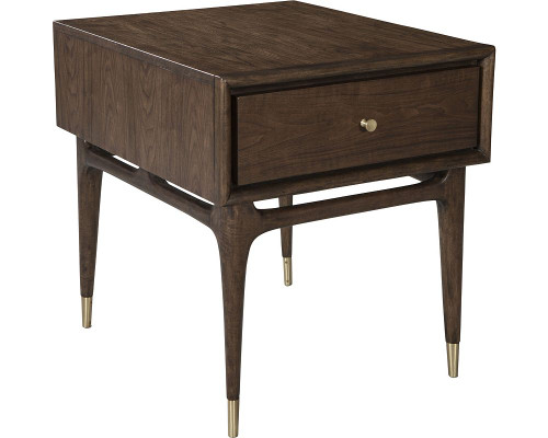Bronson Rectangular Drawer End Table