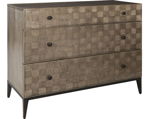 Crescenta Basketweave Hall Chest