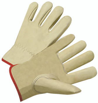 4000 Series Cowhide Leather Driver Gloves (Large): 4010L