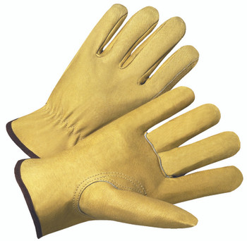 4000 Series Pigskin Leather Driver Gloves (Small): 4800S