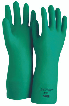 Sol-Vex Unsupported Nitrile Gloves: 37-175-10