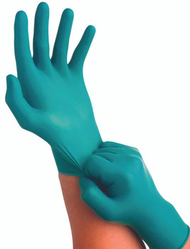 Touch N Tuff Disposable Gloves: 92-600-7.5-8