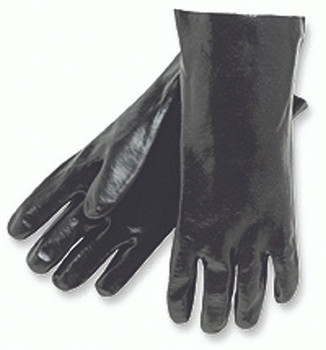 Memphis Interlock Lined Dipped PVC Gloves (14 in.): 6300