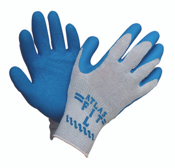 Atlas Fit Rubber Coated Gloves (Small) : 300-S