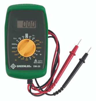 Digital Multimeters: DM-210