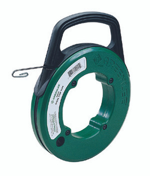 Greenlee FTS438W-100 Magnum Pro Steel Fish Tape with Case 1/4 x 100
