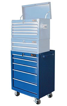 Roller Cabinet Bottom Chest (Blue)