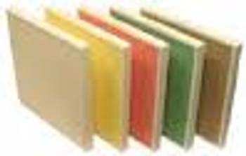 Aeolus Mini Pleat Plastic Header Frame Filters - Merv 13 (Red, Choose Size)