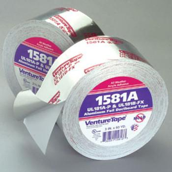 Venture - UL Foil Tape - 1581A (Choose Size)