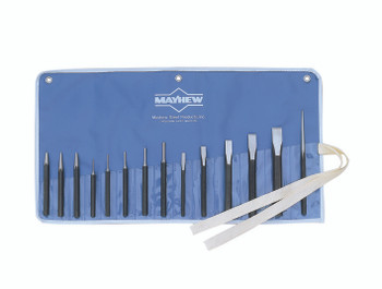 14 Pc Punch and Chisel Kits: 76044