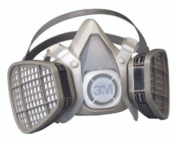 5000 Series Half Facepiece Respirators (Large): 5301