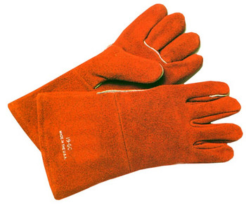 Anchor Cowhide Welding Gloves (Large): 18GC