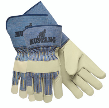 Memphis Grain Leather Palm Gloves: 1935