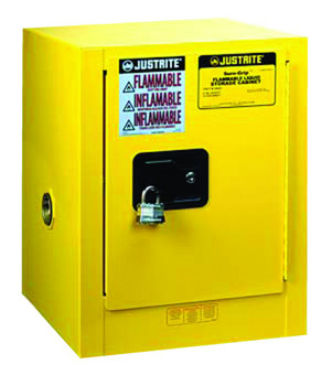 Justrite Yellow Countertop and Compac Cabinets: 890