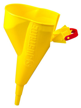Justrite Funnel Attachments for Type I Steel Safety Cans: 11089 and 11202Y