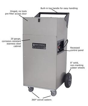 Abatement Technologies HEPA-AIRE® Portable Air Scrubber: PAS1200 1