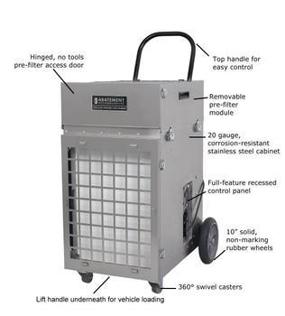 Abatement Technologies HEPA-AIRE® Portable Air Scrubber: PAS2400