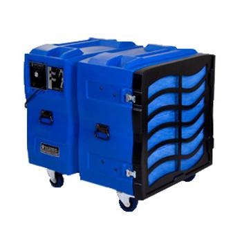 BULLDOG Roto-Molded Negative Air Machine: BD2KLV