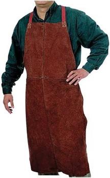 Anchor Bib Leather Aprons: Choose Size