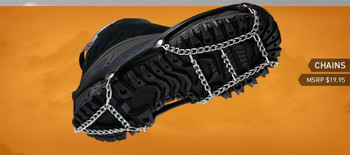 IceTrekkers Chains: Choose Size