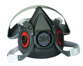 3M 6000 Series Half Facepiece Respirators: Choose Size