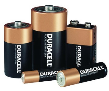 Duracell Alkaline Batteries: Choose Size