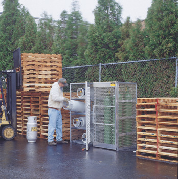 Aluminum Cylinder Lockers (6 Cylinders): 23002
