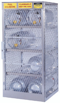 Aluminum Cylinder Lockers (8 Cylinders): 23003