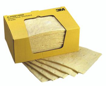 3M High-Capacity Chemical Sorbent Pads (9.25 in. X 14. 5 in.): C-PD914DD