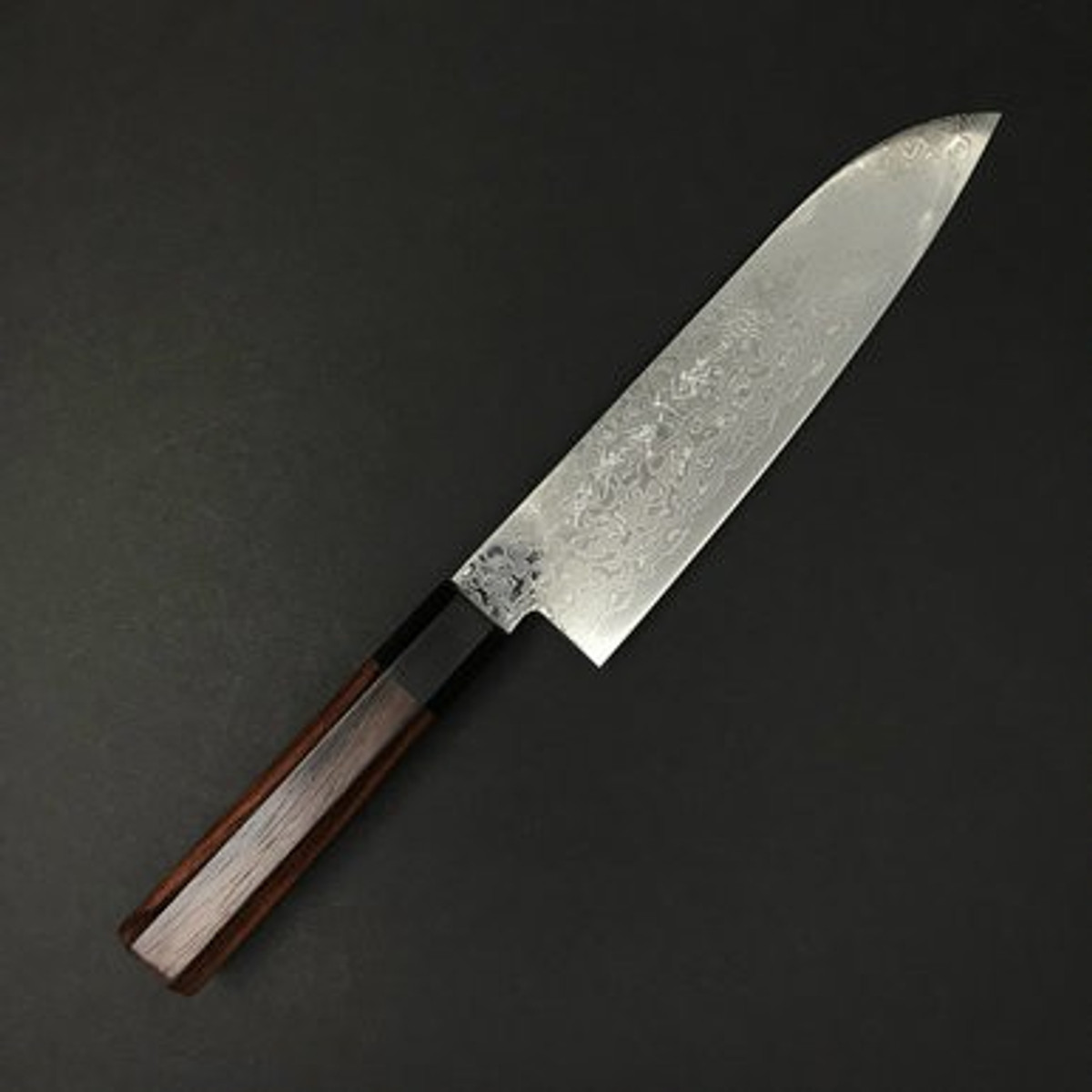 Kikuichi - Nickel Damascus - Santoku 180mm