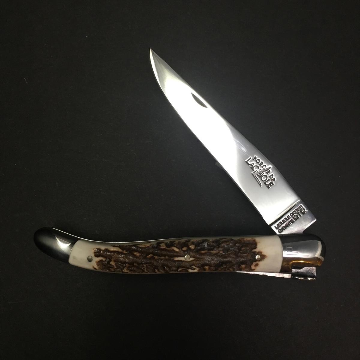 Forge De Laguiole - 11cm - Shiny - Stag Horn