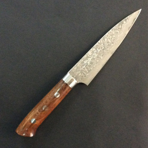 Takeshi Saji - R2 Damascus (Ironwood) - Petty 130mm