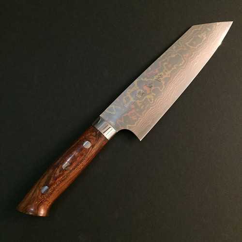 Takeshi Saji - Rainbow (Ironwood) - Bunka 170mm